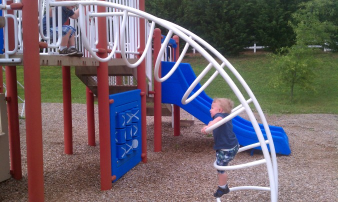 Playground Climbing