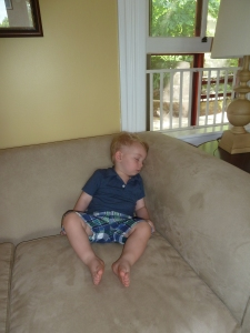 J asleep on sofa 1