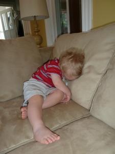 J sleeping 5
