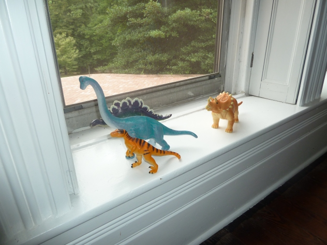 These Walls - Dinos in Window