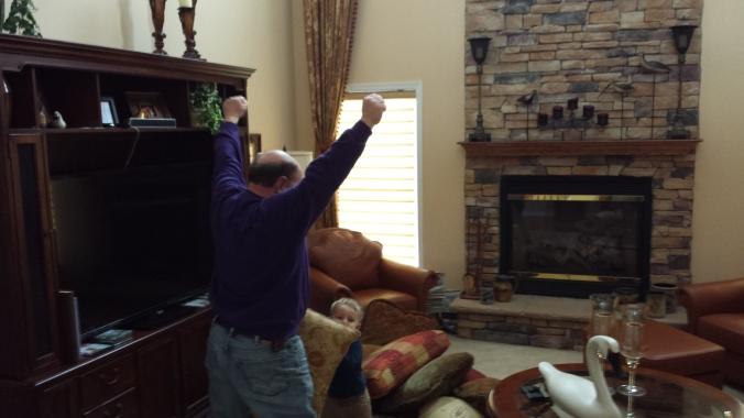 Grandpa triumphs!