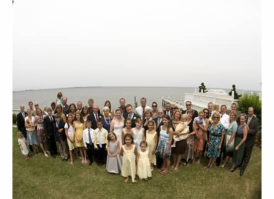 My mom's side of the family at our wedding five years ago. Something like ten more family members have been added since then!
