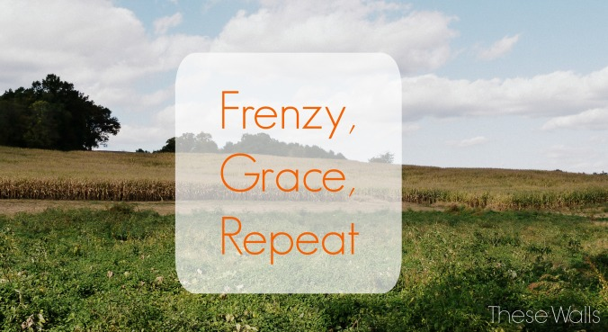 These Walls - Frenzy, Grace, Repeat