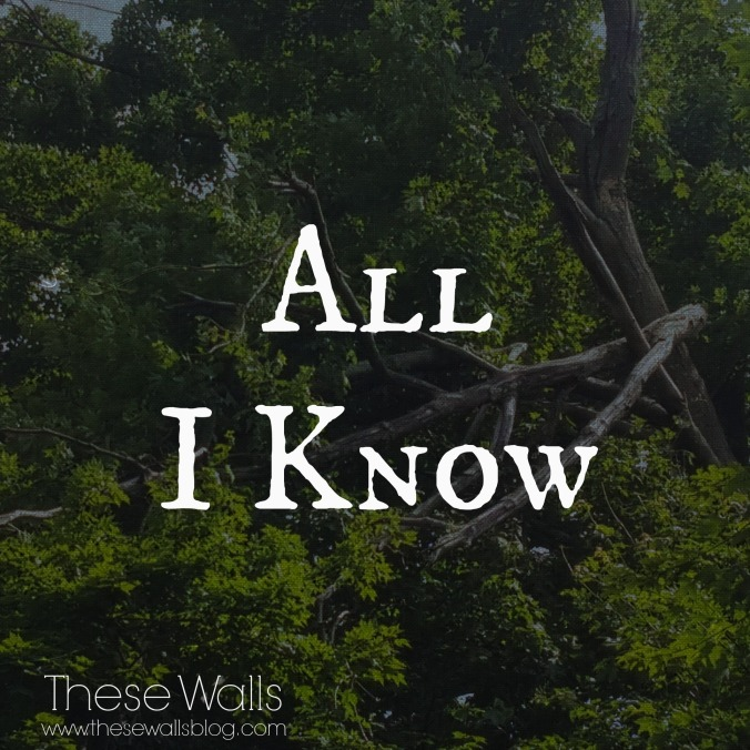 These Walls - All I Know