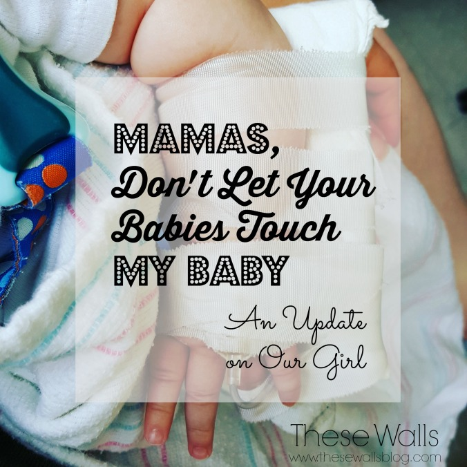 These Walls -- Mamas Don't Let Your Babies Touch My Baby