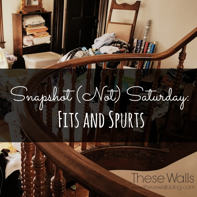 These Walls - Snapshot Not Saturday - Fits and Spurts