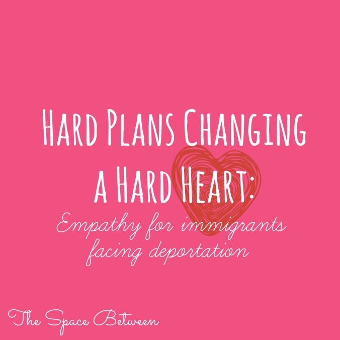 The Space Between - Hard Plans Changing a Hard Heart