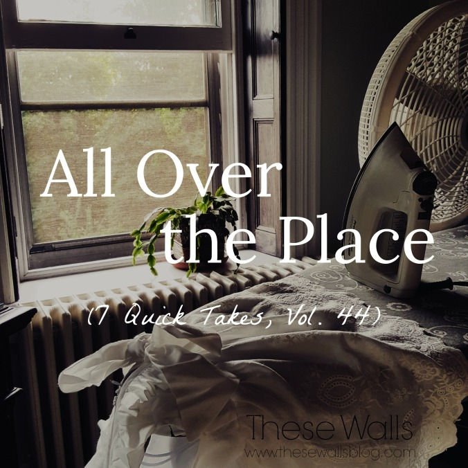 These Walls - All Over the Place 7QT44