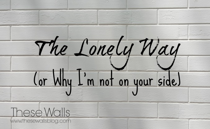 TW - The Lonely Way