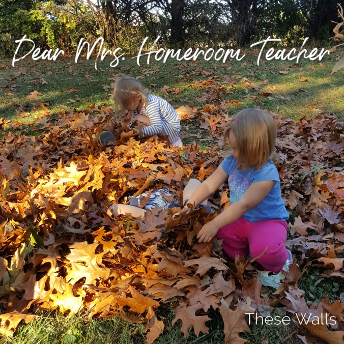 Title image: Dear Mrs. Homeroom Teacher